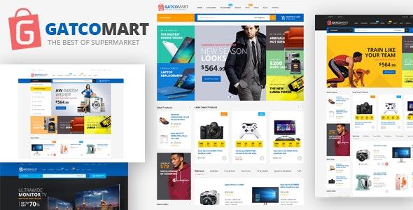 GatcoMart v1.1 — Multipurpose Responsive Magento Theme