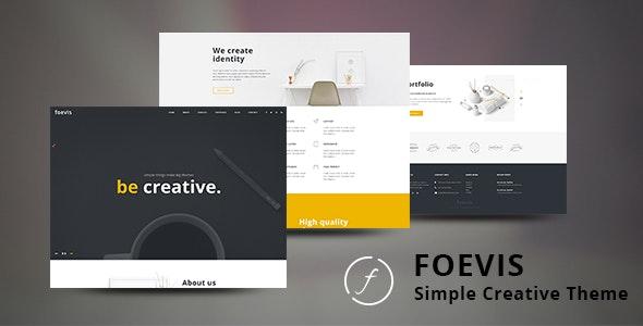 Foevis v1.3.0 — Basic WordPress Creative Theme