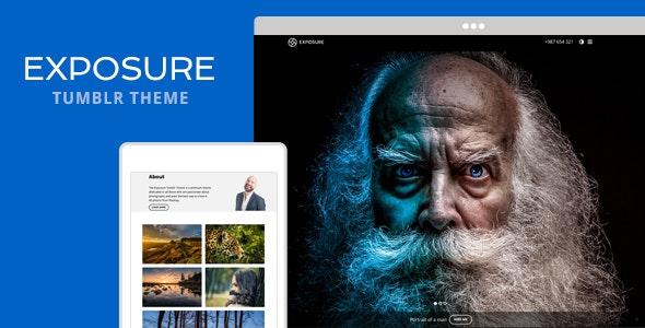 Exposure v1.2 — Tumblr Theme