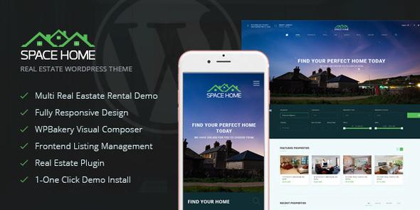 Space Home v2.2.1 — Real Estate WordPress Theme