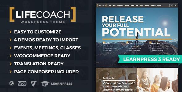 Life Coach v2.2.5 — WordPress Theme