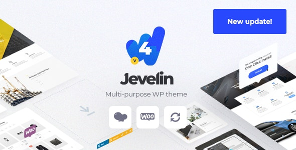 Jevelin v4.5.2 — Multi-Purpose Premium Responsive Theme