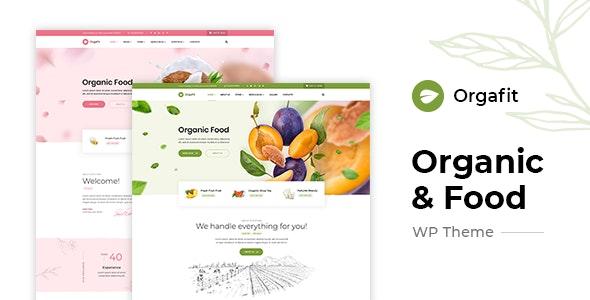 OrgaFit v1.0.1 — Organic and Health WordPress Theme