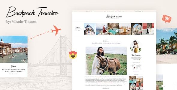 Backpack Traveler v1.6 — Modern Blog