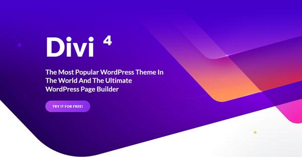 Divi v4.0.5 — Elegantthemes Premium WordPress Theme