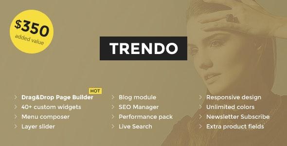 Trendo v1.1.2 — Minimalistic Fashion Store OpenCart Theme