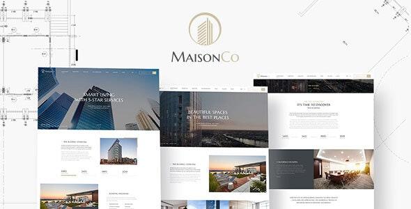 MaisonCo v1.4.0 — Single Property WordPress Theme