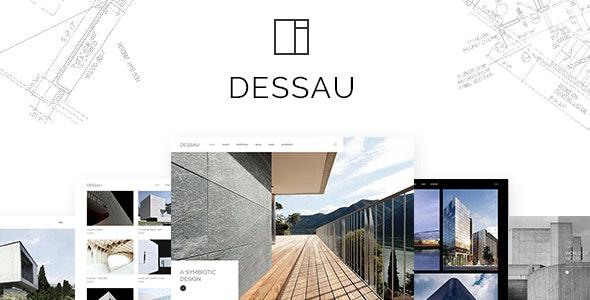 Dessau v1.2 — Contemporary Theme for Architects and Interior Designers