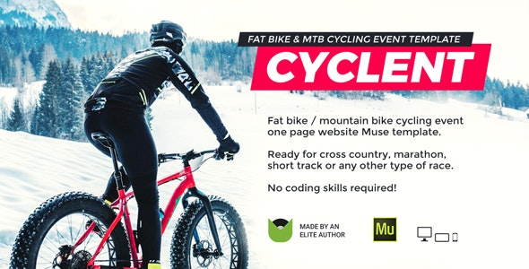 Cyclent v1.0 — Mountain Bike Event Template