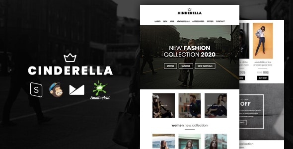 Cinderella v1.0 — E-commerce Responsive Email Template