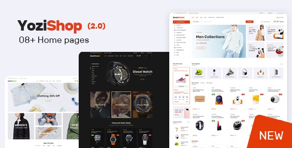 Yozi v2.0.21 — Multipurpose Electronics WooCommerce Theme