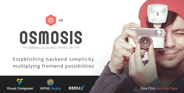 Osmosis v4.1.3 — Responsive Multi-Purpose Theme