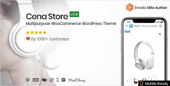 Cena Store v2.8.9 — Multipurpose WooCommerce Theme
