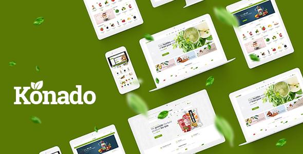 Konado v1.0.6 — Organic Theme for WooCommerce