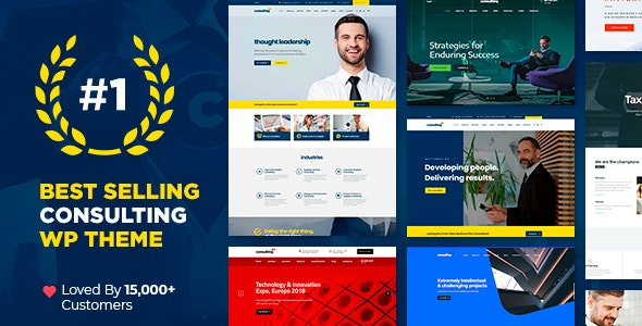 Consulting v4.6.9.2 — Business, Finance WordPress Theme