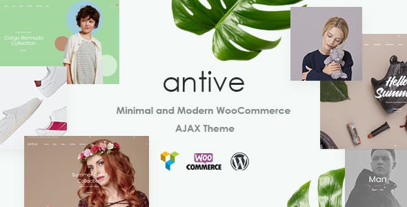 Antive v1.6.3 — Minimal and Modern WooCommerce AJAX Theme (RTL Supported)
