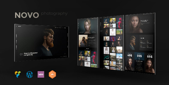 Novo v3.1.0 — Photography WordPress for Photography
