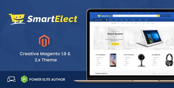 SmartElect v1.0 — Responsive Magento 1 & 2 Theme