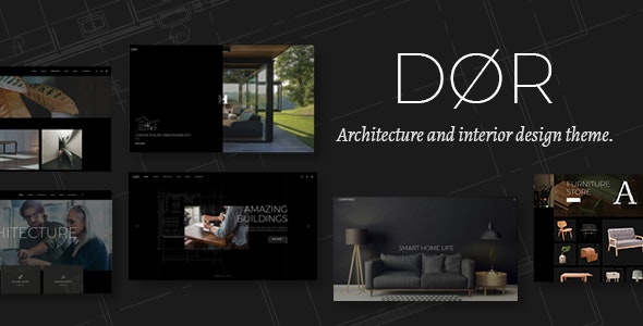 Dor v1.3 — Modern Architecture and Interior Design Theme