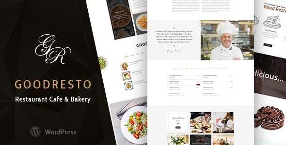 GoodResto v2.2 — Restaurant WordPress Theme + Woocommerce