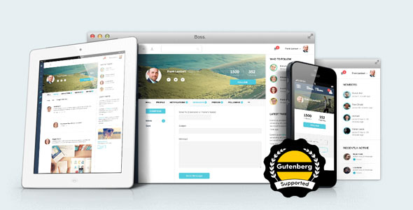 BuddyBoss — Boss v2.5.6 — WordPress Theme