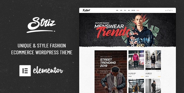 Striz v1.6.0 — Fashion Ecommerce WordPress Theme