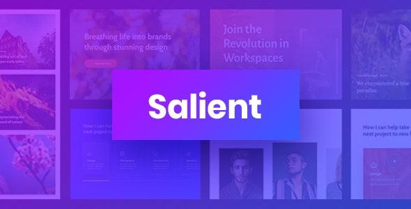 Salient v11.0.4 — Responsive Multi-Purpose Theme