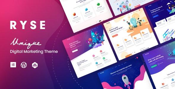 Ryse v1.4.0 — SEO & Digital Marketing Theme