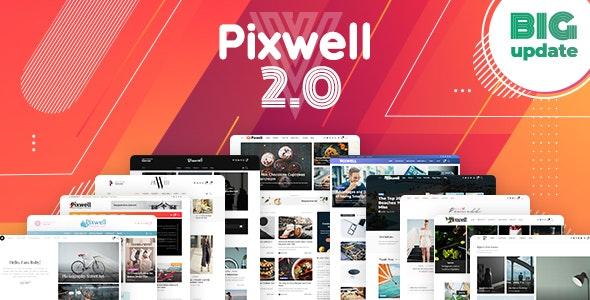 Pixwell v2.2 — Modern Magazine