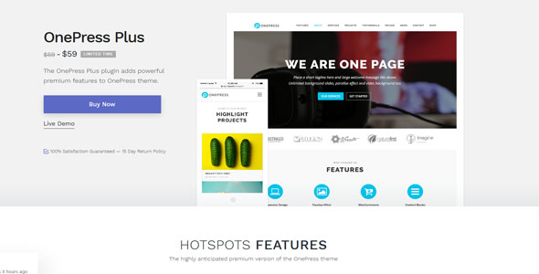 OnePress Plus v2.1.8 — WordPress Theme