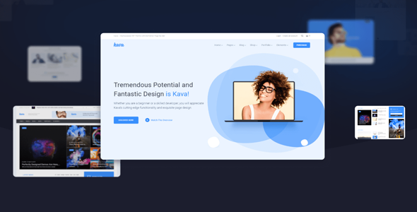 Kava Pro v2.0.1 — WordPress Theme For Elementor