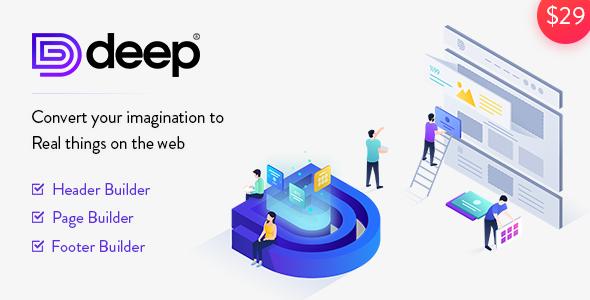 Deep v4.1.2 — Creative Multi-Purpose WordPress Theme