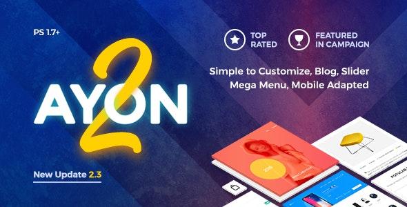 AYON v2.3 — Multipurpose Responsive Prestashop Theme