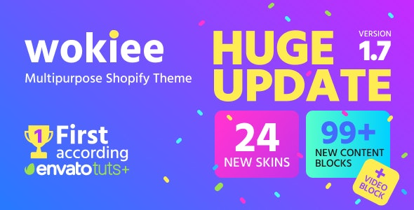 Wokiee v1.3.0 — Multipurpose Shopify Theme