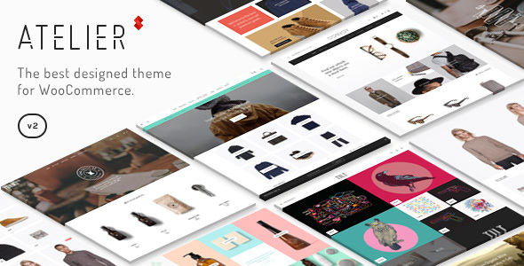 Atelier v2.6.21 — Creative Multi-Purpose eCommerce Theme