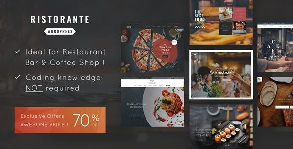 Ristorante v1.4 — Restaurant WordPress Theme