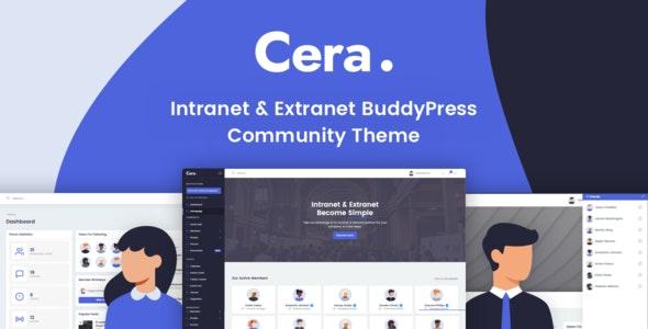 Cera v1.0.3 — Intranet & Community Theme