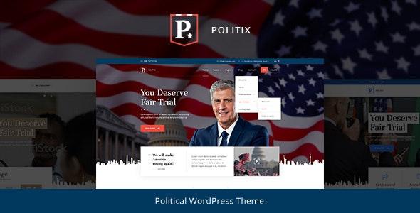 Politix v1.0.2 — Political Campaign WordPress Theme