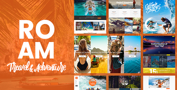 Roam v1.7 — Travel and Tourism WordPress Theme