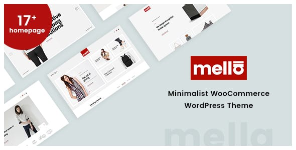 Mella v1.2.10 — Minimalist Ajax WooCommerce WordPress Theme