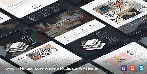 Kwoon v1.0.20 — Multipurpose WordPress Theme