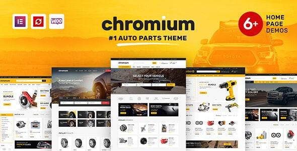 Chromium v1.3.6 — Auto Parts Shop WordPress Theme