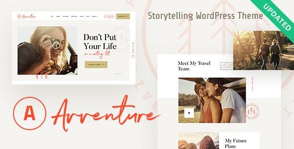 Avventure v1.1.1 — Personal Travel & Lifestyle Blog WordPress Theme