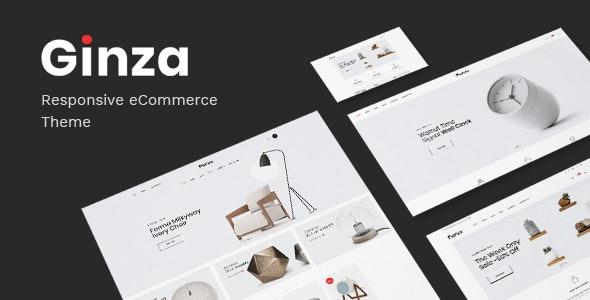 Ginza v1.0 — Responsive Prestashop Theme