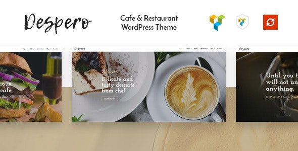Despero v1.2 — Cafe & Restaurant WordPress Theme