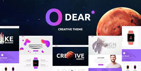 Odear v1.1.2 — Multi-Concept Creative WordPress Theme