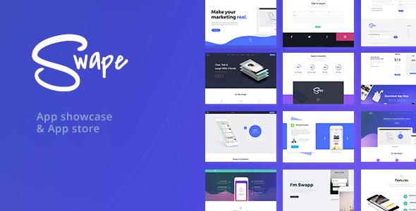 Swape v1.5.5 — App Showcase & App Store Theme