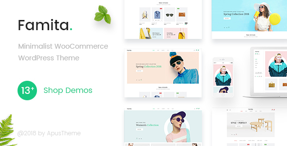 Famita v1.20 — Minimalist WooCommerce WordPress Theme