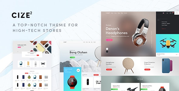 Cize v1.1.6 — A Top Notch Theme For High Tech Stores (RTL Supported)