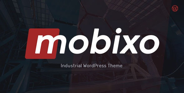 Mobixo v1.0.3 — Industry WordPress Theme